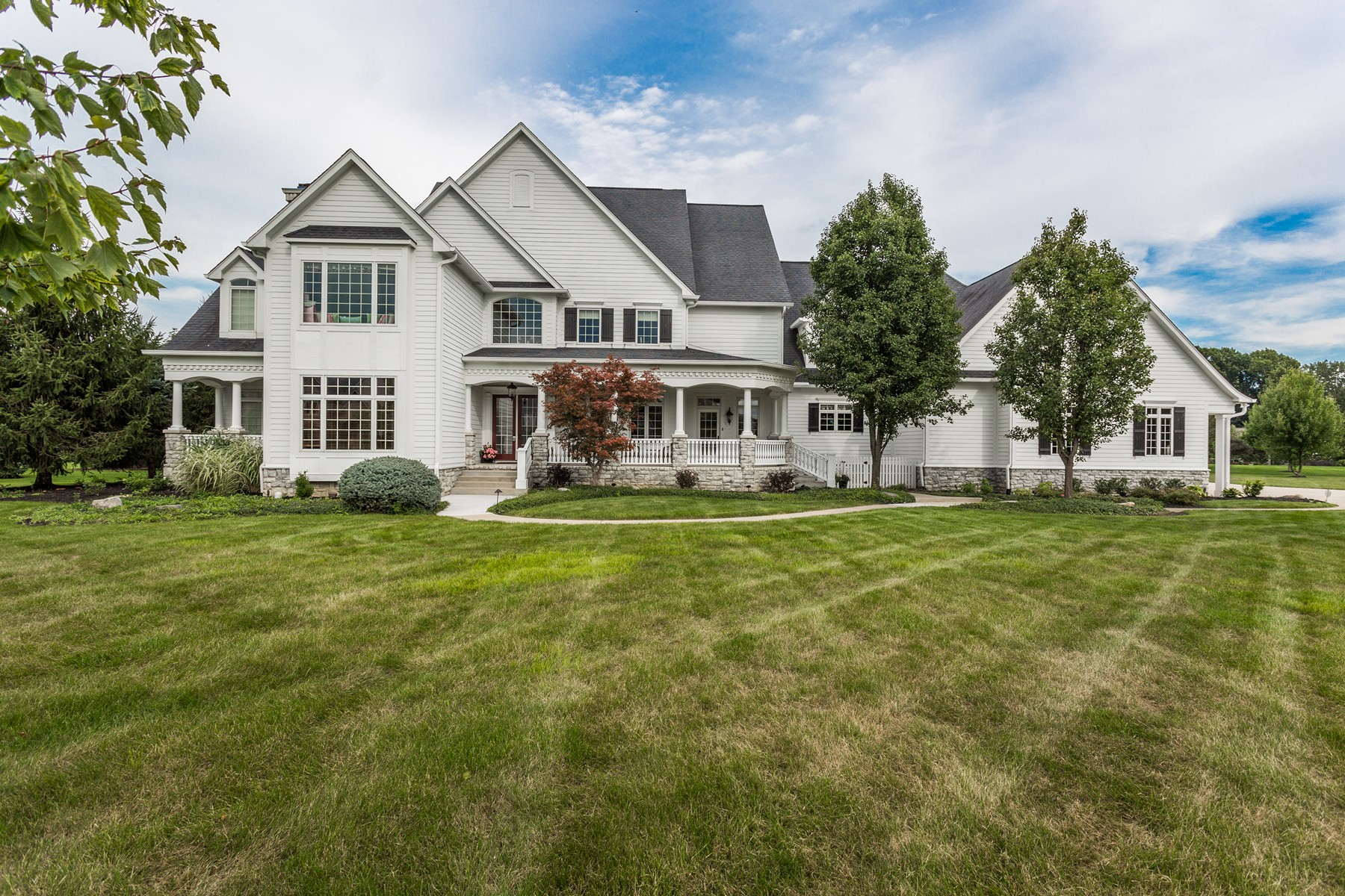 단독 가정 주택 용 매매 에 Stunning Willow Ridge Estate 11527 Willow Ridge Dr Zionsville, 인디애나, 46077 미국