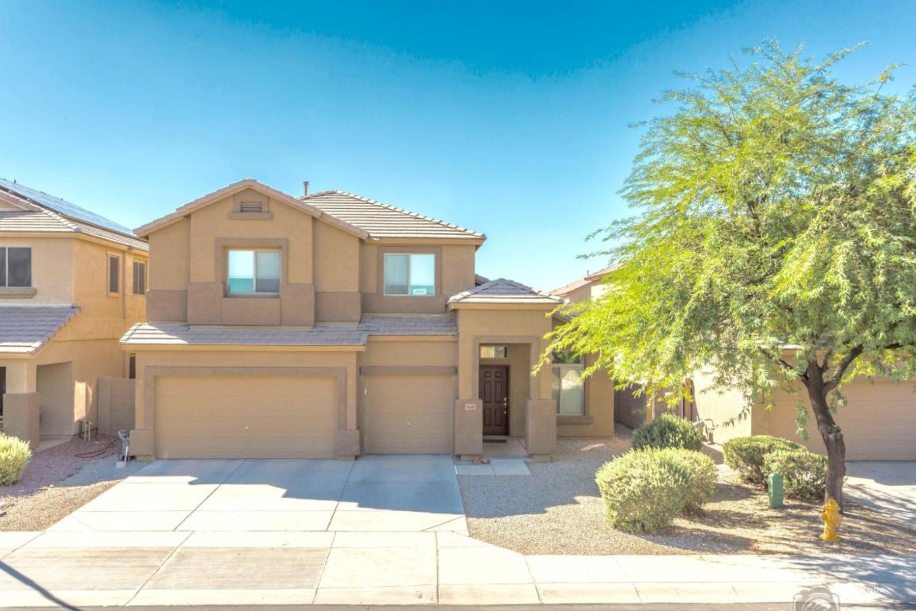 Single Family Home for Sale at Spacious home with vaulted ceilings in all the right places 36487 W Costa Blanca Dr Maricopa, Arizona 85138 United States
