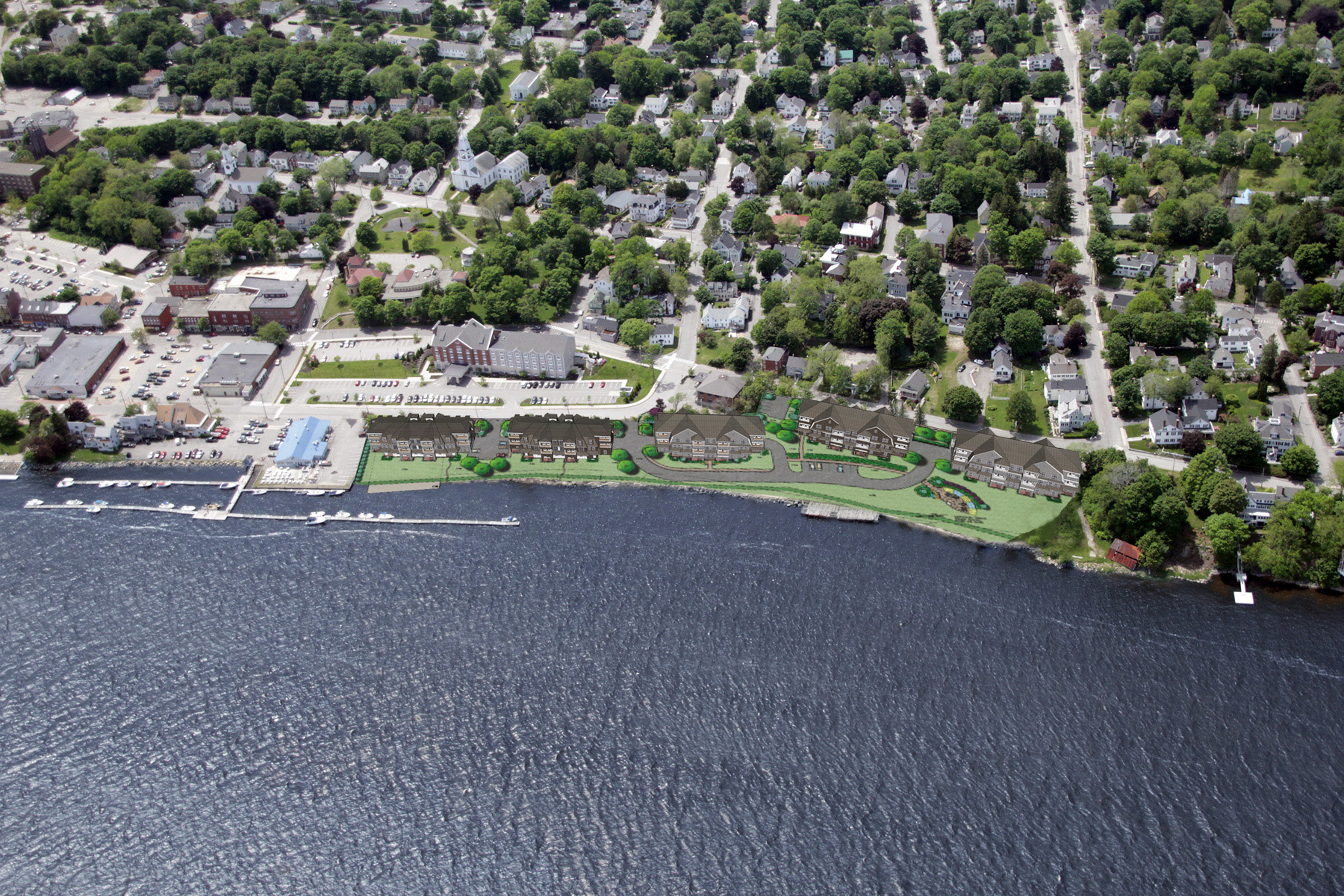 Condominium for Sale at Bath Riverwalk 133 Commercial Street # 203 Bath, Maine 04530 United States