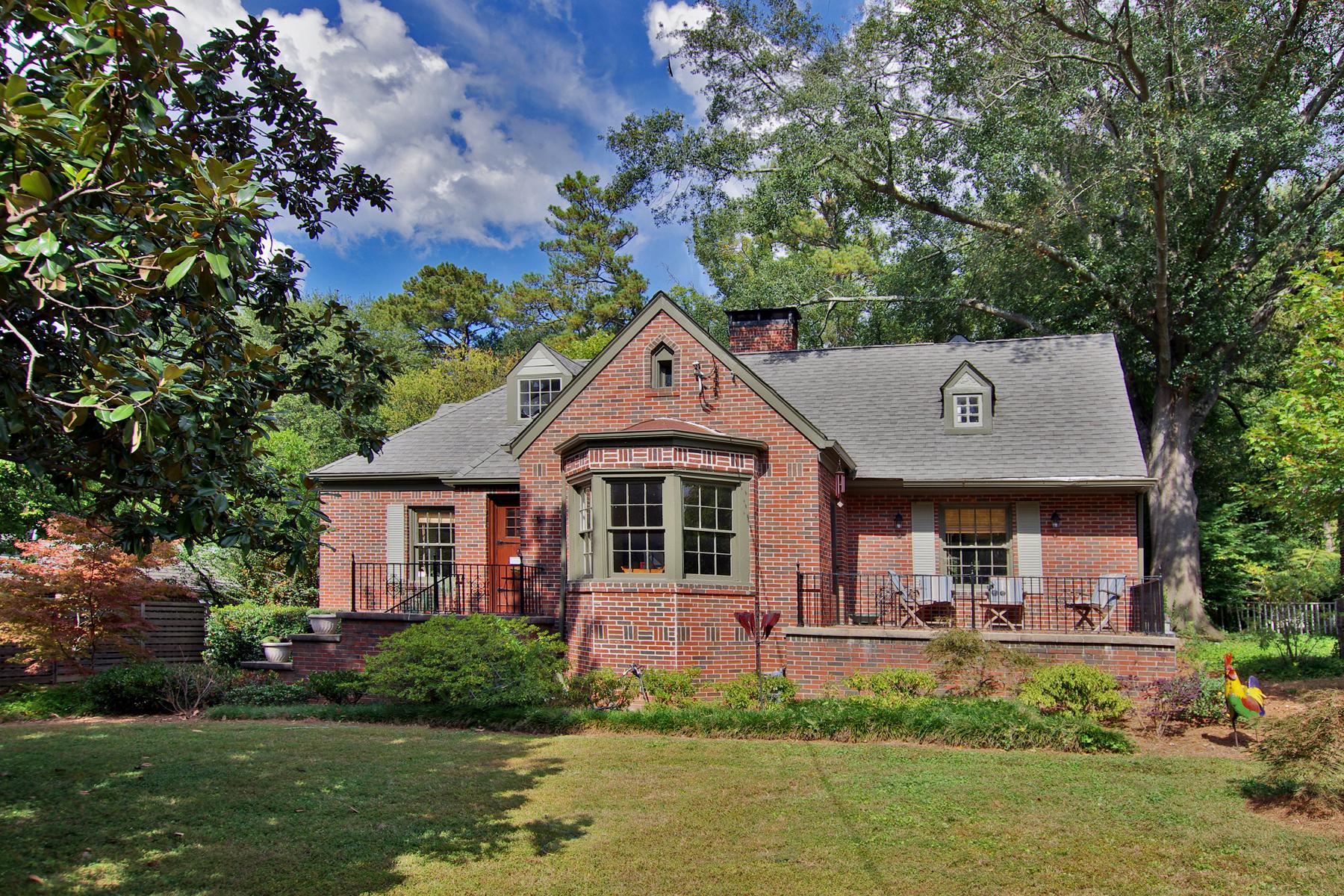 Maison unifamiliale pour l Vente à Morningside Classic Bungalow 1080 E Rock Springs Road Atlanta, Georgia, 30306 États-Unis