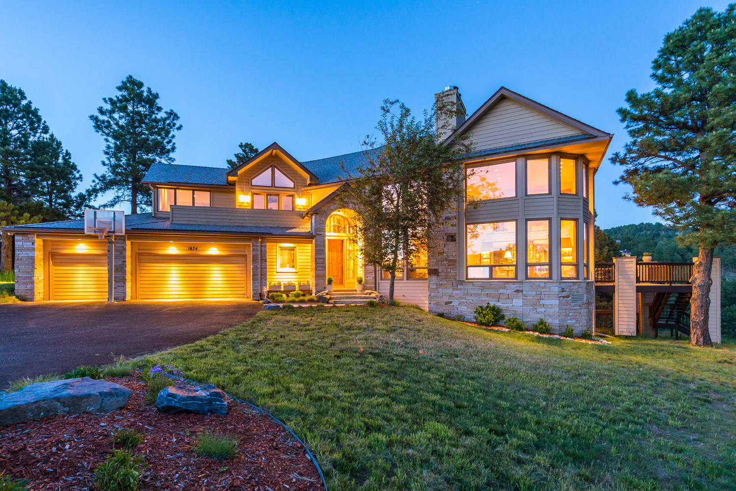 Single Family Home for Sale at Mount Evans Views in Genesee 1874 South Foothills Drive Golden, Colorado, 80401 United States
