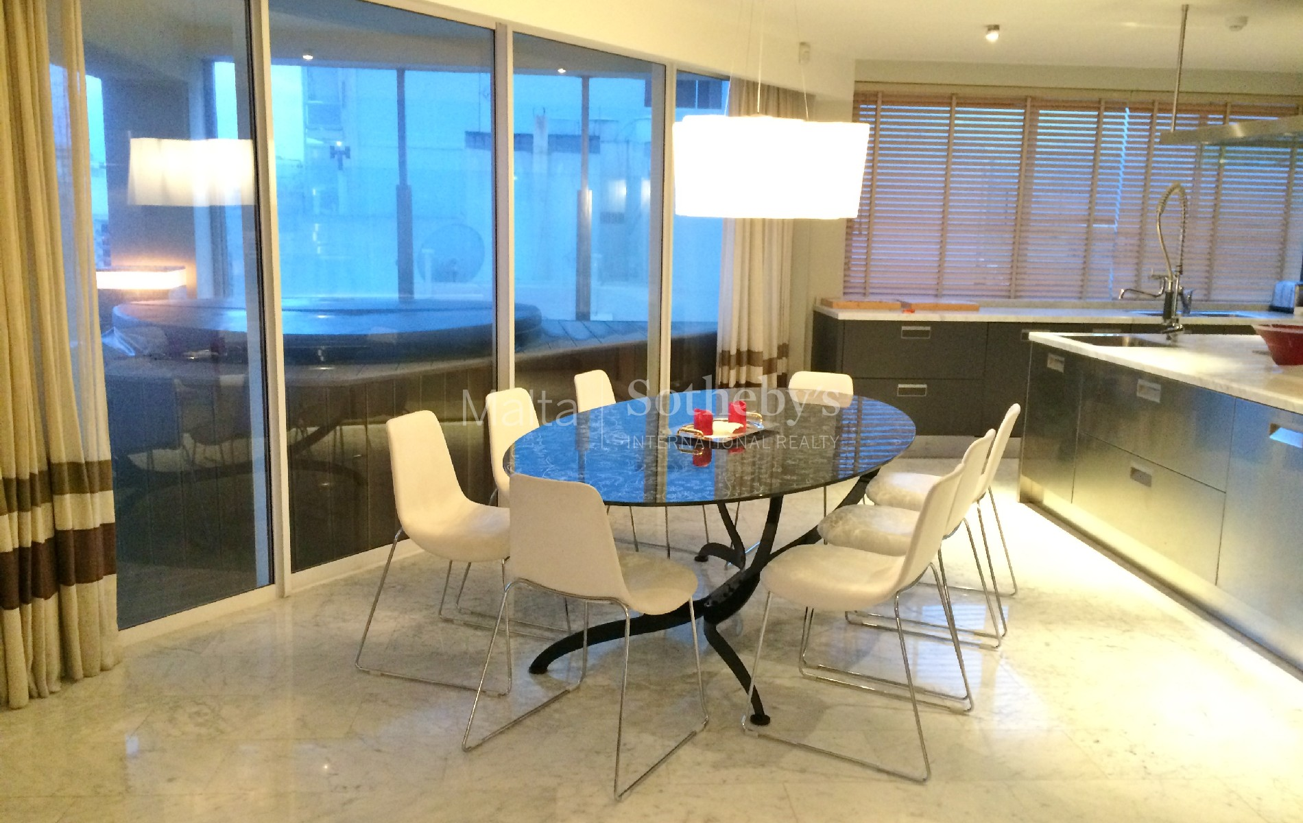 Property Of Designer Furnished Corner Seafront Apartment