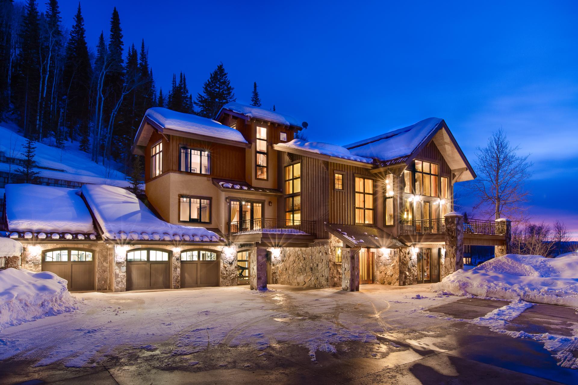 Einfamilienhaus für Verkauf beim Silver Fox Lodge 33750 Sky Valley Drive Steamboat Springs, Colorado 80487 Vereinigte Staaten