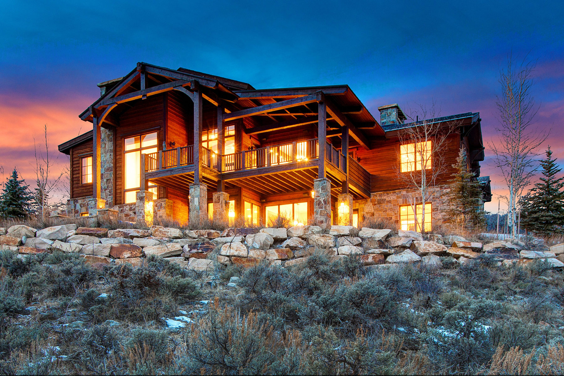Casa para uma família para Venda às Huge Uinta Mountain views combined with one of the best built homes 7870 Moon Dog Court Lot #85 Park City, Utah 84098 Estados Unidos