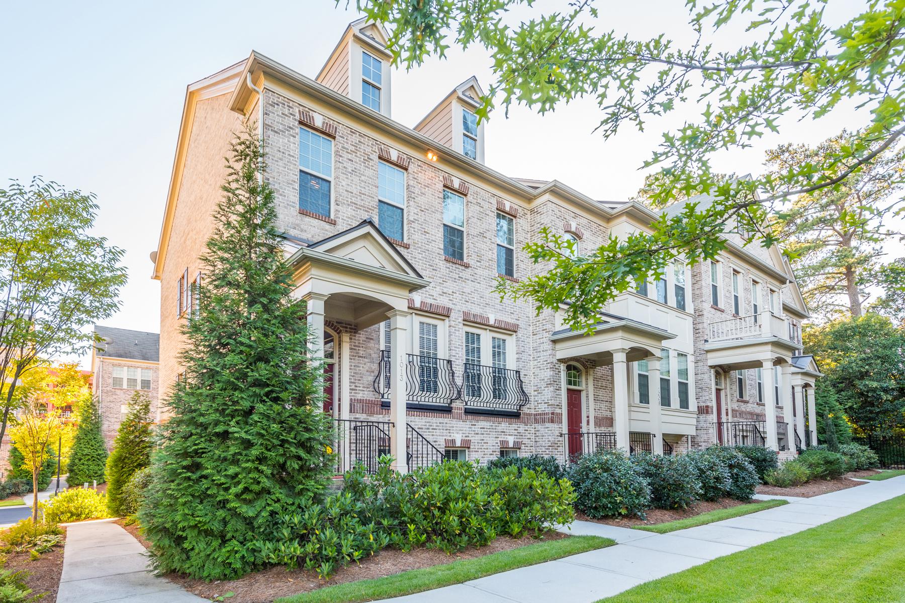 タウンハウス のために 売買 アット Luxury Townhome In The Heart Of Buckhead 1013 East Paces Lane NE Atlanta, ジョージア, 30326 アメリカ合衆国