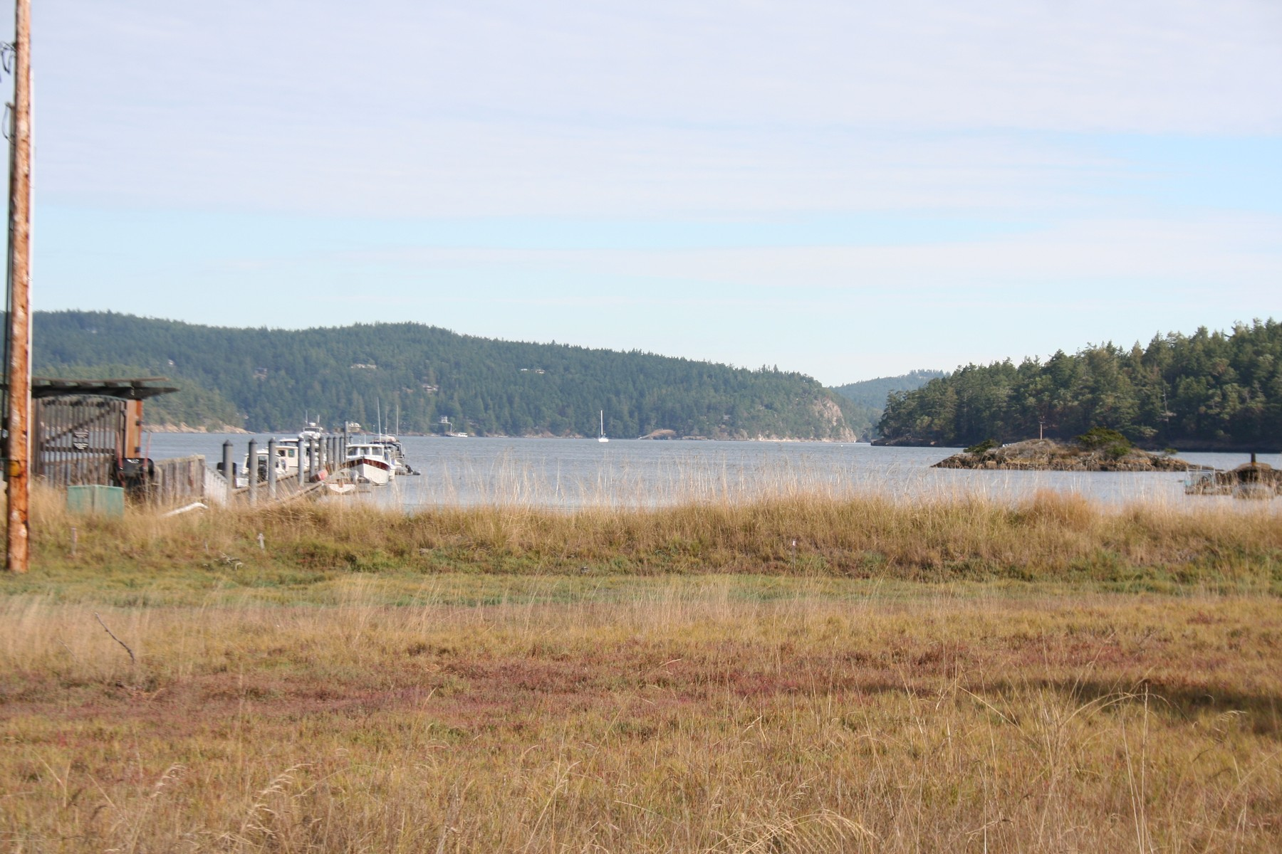 Đất đai vì Bán tại Great lot Overlooking Neck Point Marina Lot 27 Sylvan Circle Shaw Island, Washington, 98286 Hoa Kỳ