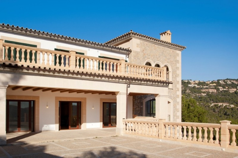 Maison unifamiliale pour l Vente à Fantastic villa with views to Port Andratx Port Andratx, Majorque 07157 Espagne