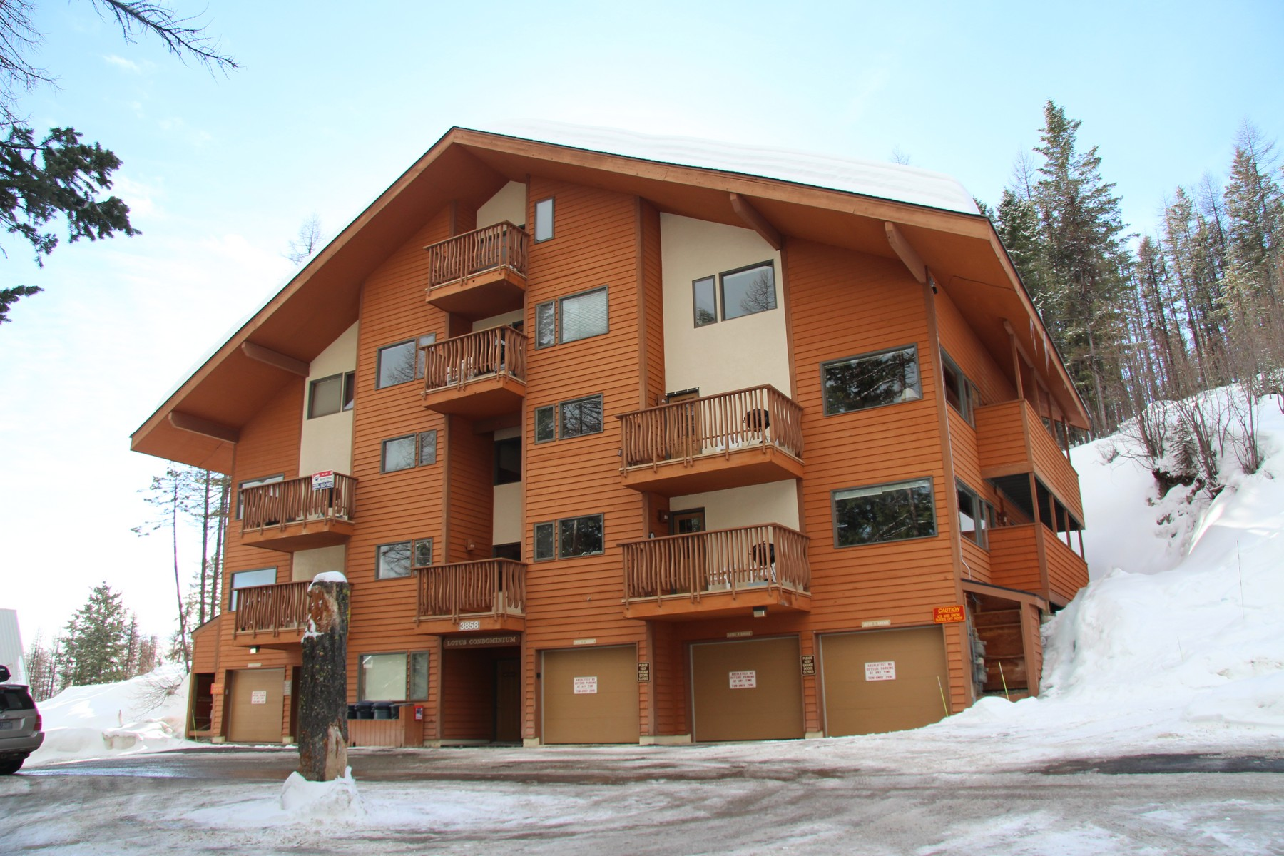Condominio per Vendita alle ore Lotus Condominium 3858 Winter Lane, Lotus #4 Whitefish, Montana 59937 Stati Uniti