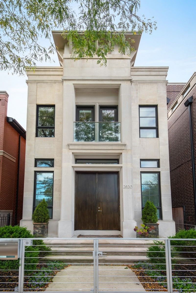 Single Family Home for Sale at Exceptionally Stylish Contemporary Home 2820 N Paulina Street Lakeview, Chicago, Illinois, 60657 United States