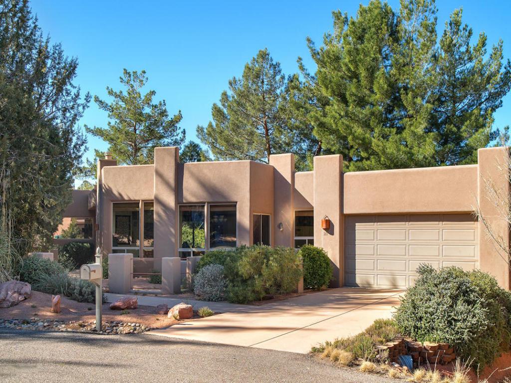 Einfamilienhaus für Verkauf beim Stunning Santa Fe Contemporary 211 Sage Drive Sedona, Arizona 86336 Vereinigte Staaten
