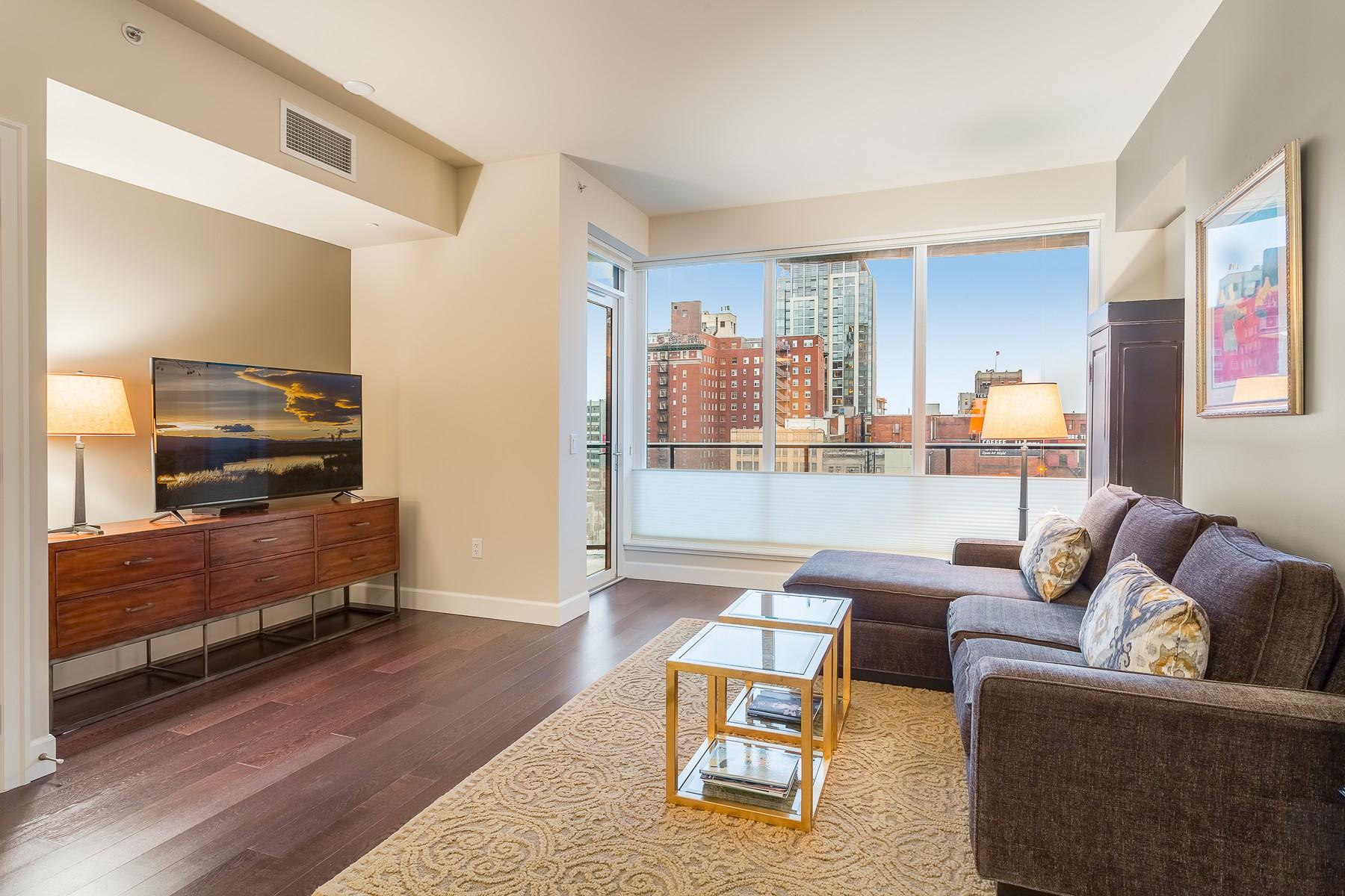 Condominium for Sale at Swanky Escala Condominium 1920 4th Ave #904 Downtown, Seattle, Washington, 98101 United States