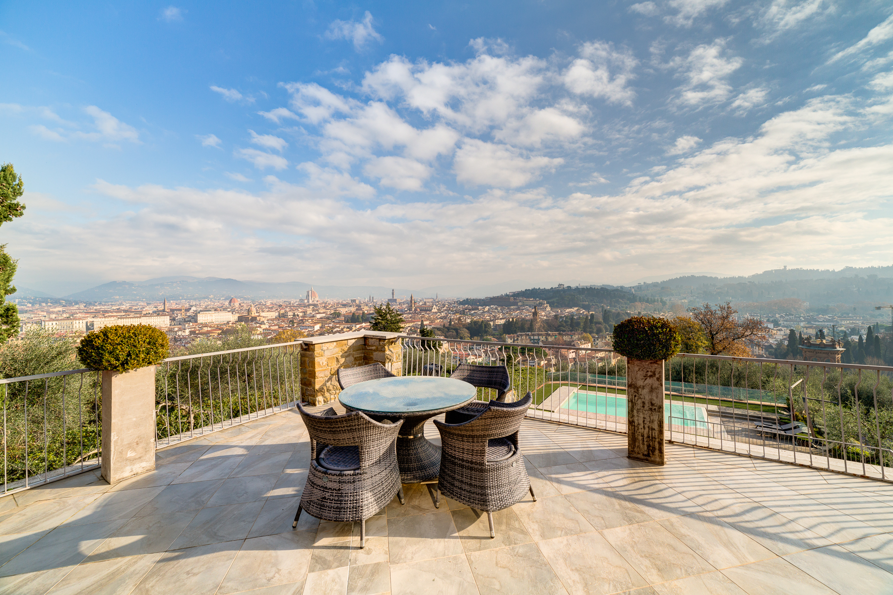 Additional photo for property listing at A truly unique villa with views over Florence Bellosguardo Firenze, Florence 50122 Italia