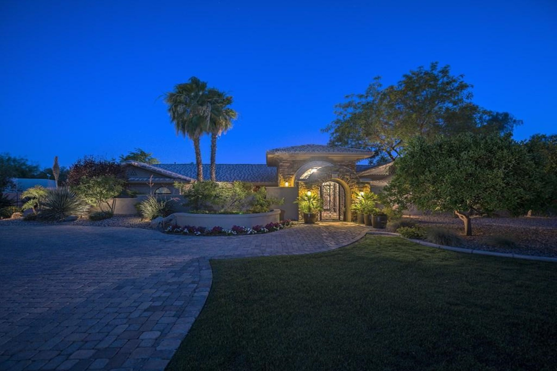 Property For Sale at Centrally located, this private custom home