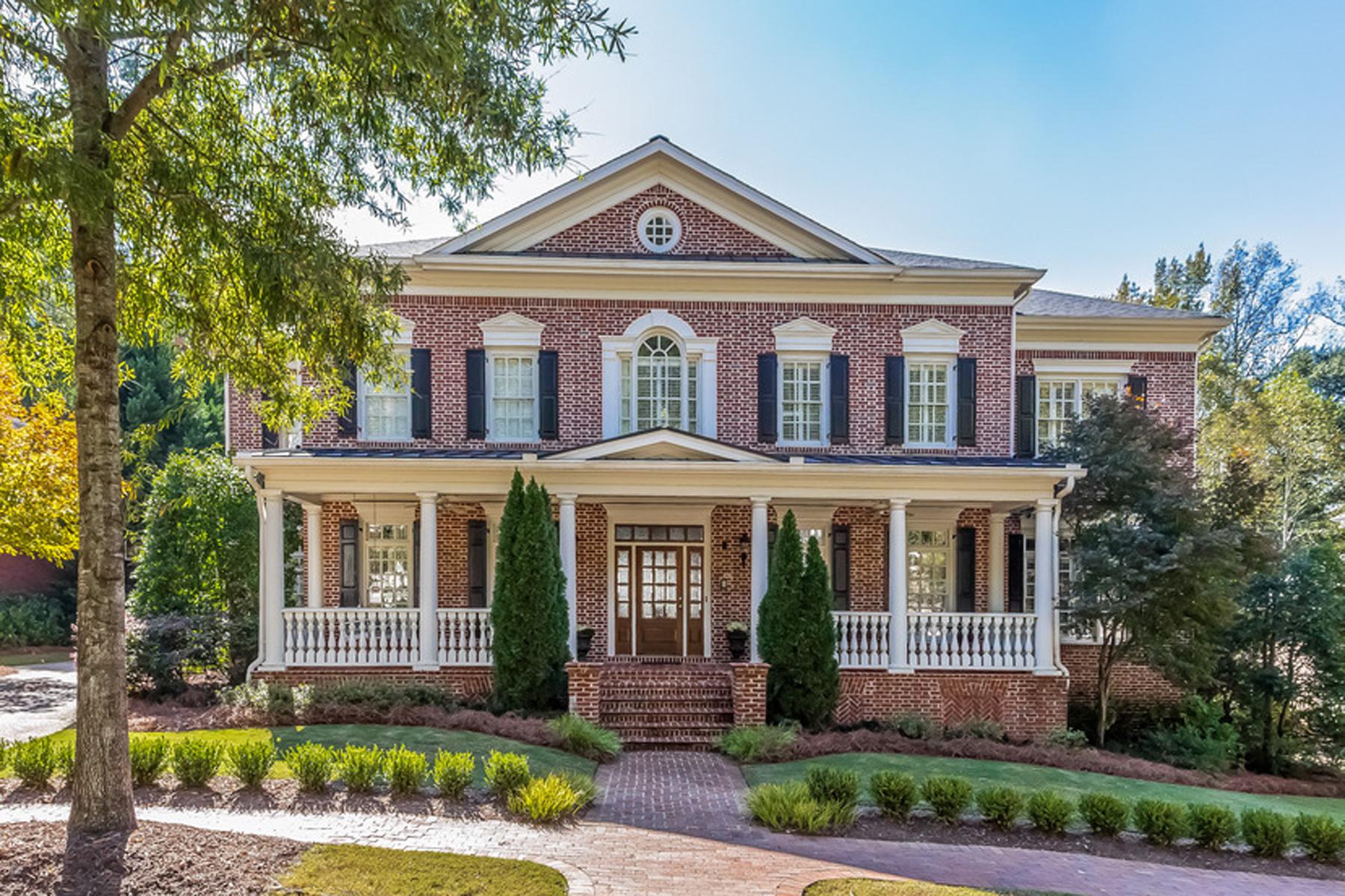 Villa per Vendita alle ore Beautiful Colonial residence located in the prestigious gated community of Ellar 3142 E Addison Drive Alpharetta, Georgia, 30022 Stati Uniti