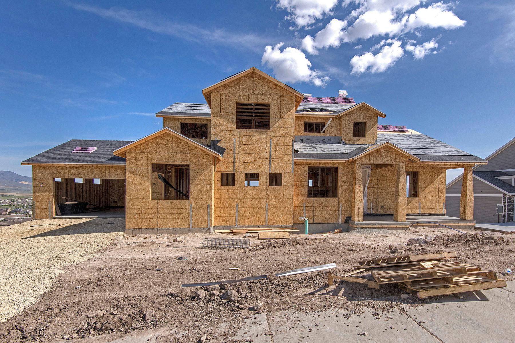 단독 가정 주택 용 매매 에 Lake City Custom Homes Birmingham Plan 6154 W Fort Pierce Way Lot #318 Herriman, 유타 84096 미국