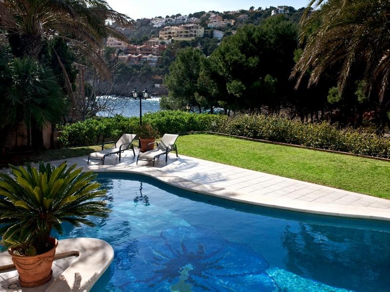 Casa Unifamiliar por un Venta en Sea view Villa of 3 bedrooms in Port Andratx Other Balearic Islands, Balearic Islands 07157 España