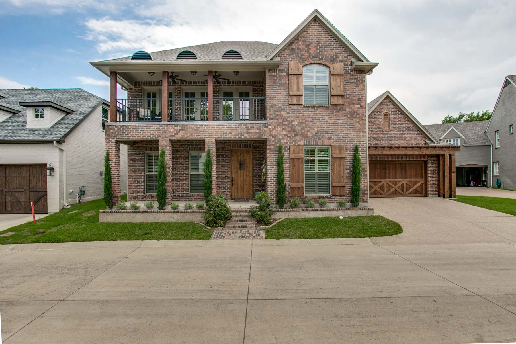 Single Family Home for Sale at Gated Traditional in River Elm 3052 Elm River Drive Fort Worth, Texas, 76116 United States