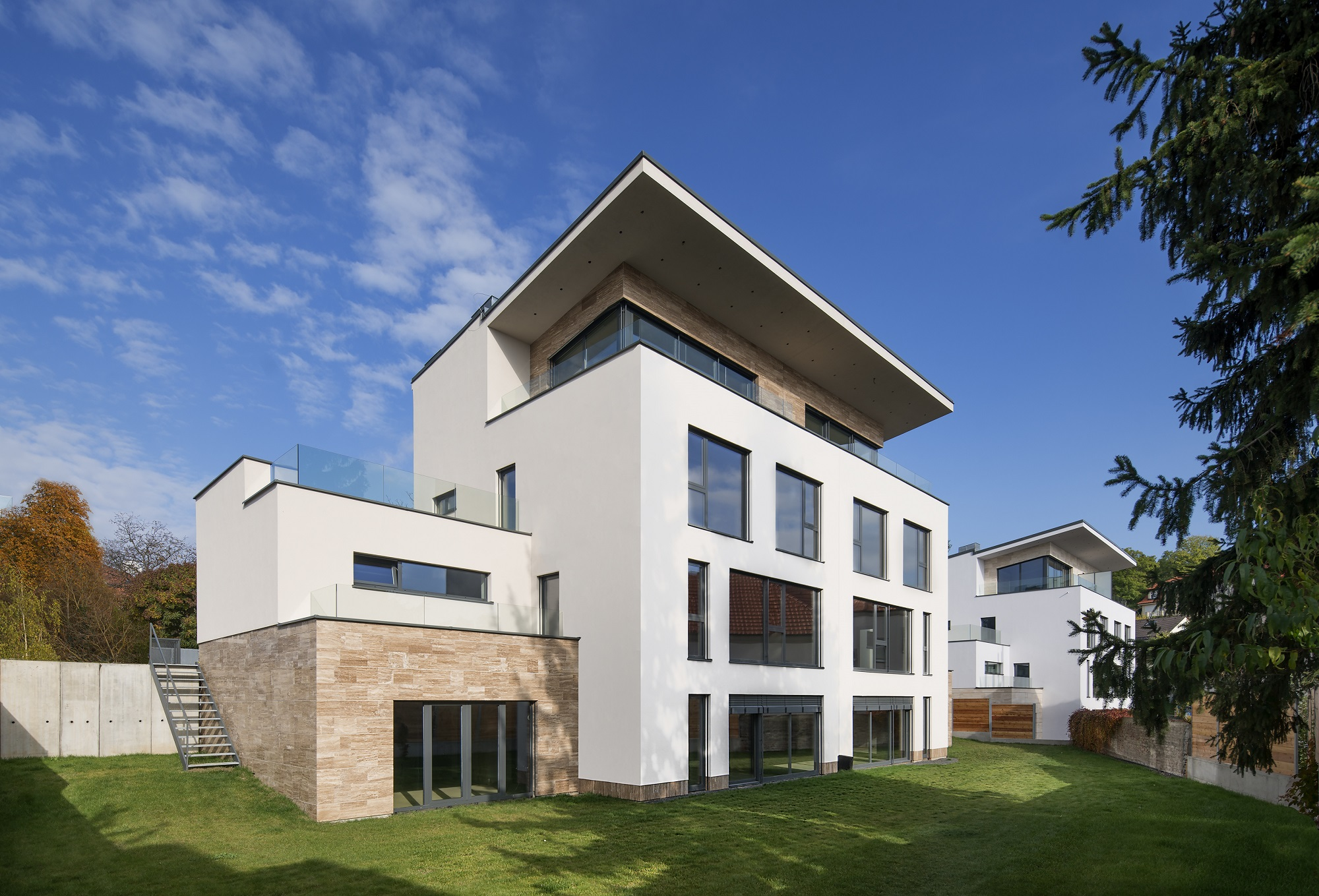 sales property at Modern villa in prime residential district overlooking Prague
