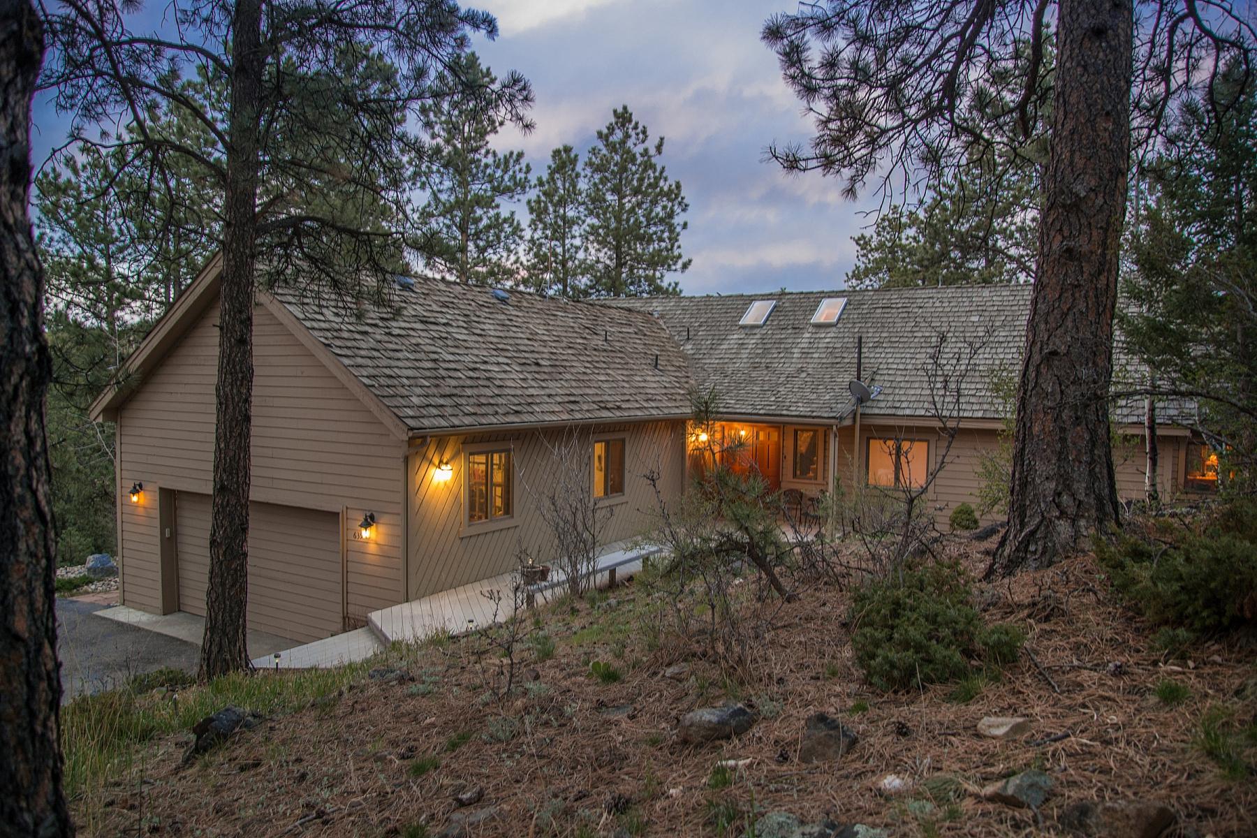 Maison unifamiliale pour l Vente à Mountain Contemporary Home 639 Soda Creek Drive Evergreen, Colorado 80439 États-Unis
