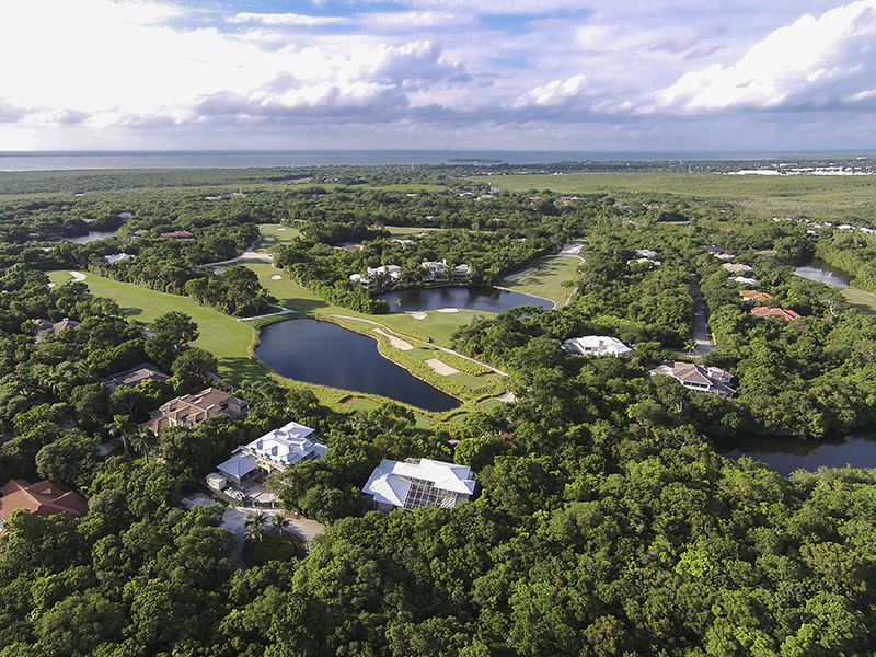 Maison unifamiliale pour l Vente à Panoramic Golf and Lake Views at Ocean Reef 437 South Harbor Drive Ocean Reef Community, Key Largo, Florida, 33037 États-Unis
