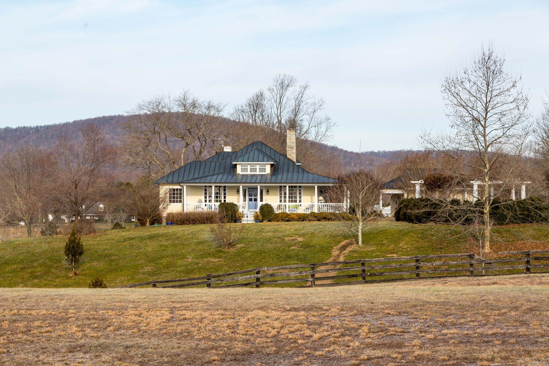 Single Family Home for Sale at Linden Ridge 1750 St. John Road Keswick, Virginia 22947 United States