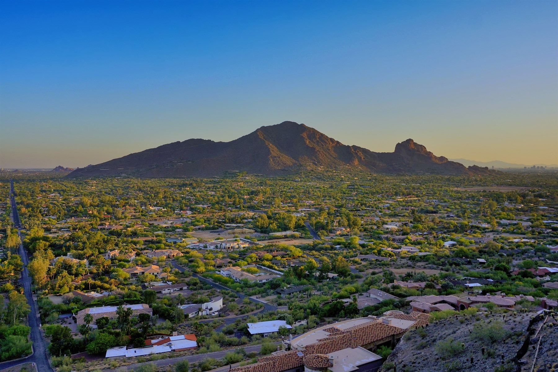 sales property at Top of Mummy Mountain Lot with Spectacular Views in Paradise Valley
