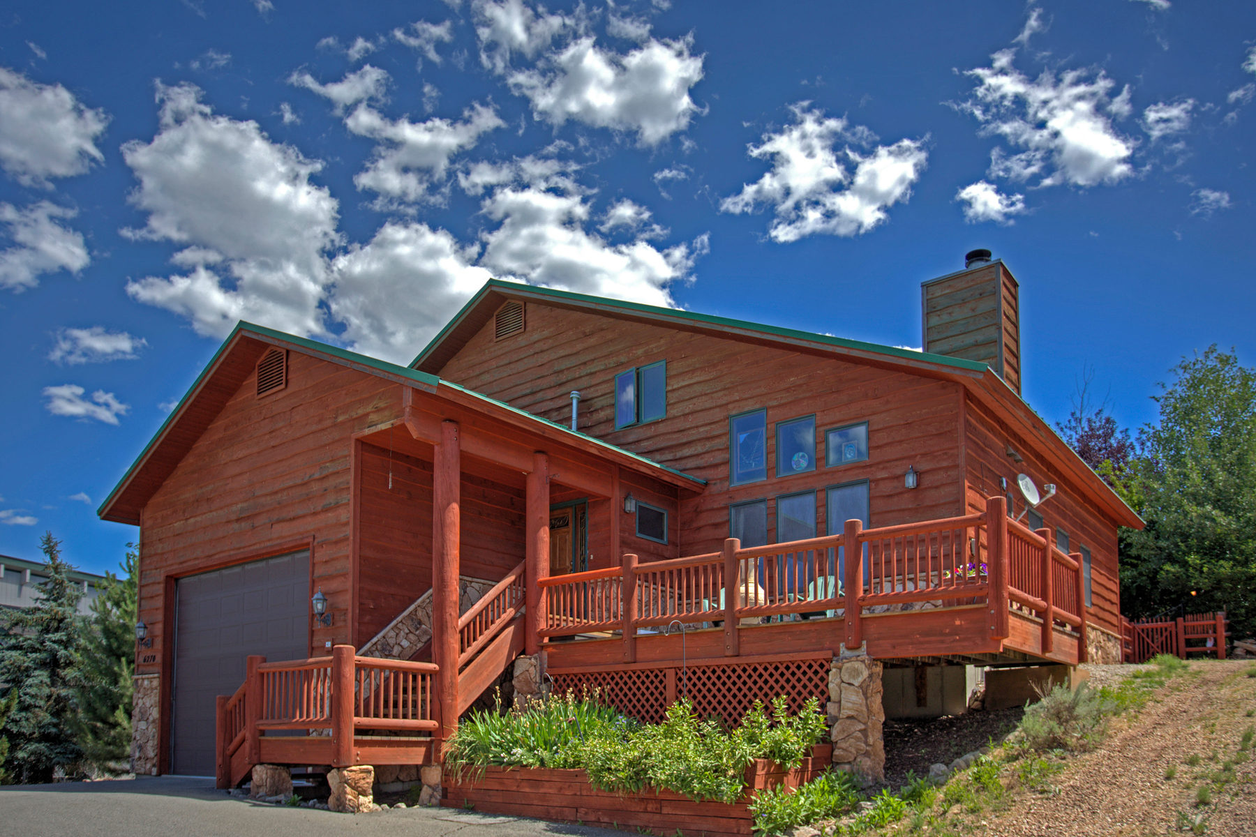 Single Family Home for Sale at Mountain Style Home with Great Views 6270 Mountain View Dr Park City, Utah 84098 United States