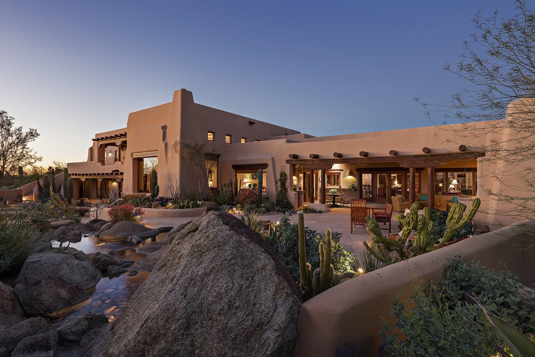 단독 가정 주택 용 매매 에 Special Southwest Territorial 9702 E Calle De Valle Dr Scottsdale, 아리조나, 85255 미국