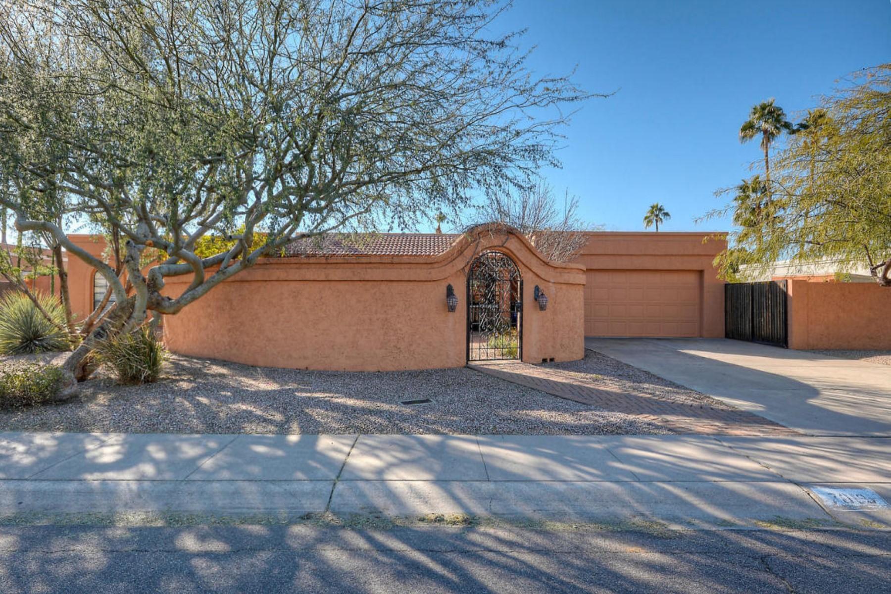独户住宅 为 销售 在 Highly desirable Raskin Estates 7019 E Friess Dr 斯科茨代尔, 亚利桑那州 85254 美国