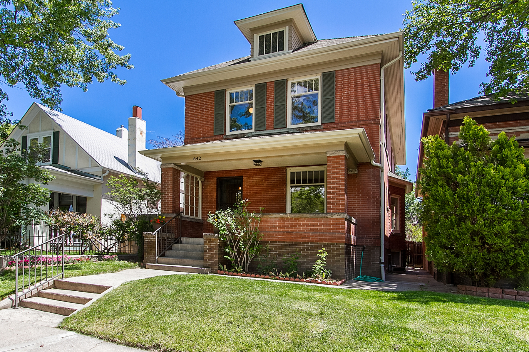 Single Family Home for Sale at 642 High Street Denver, Colorado 80218 United States