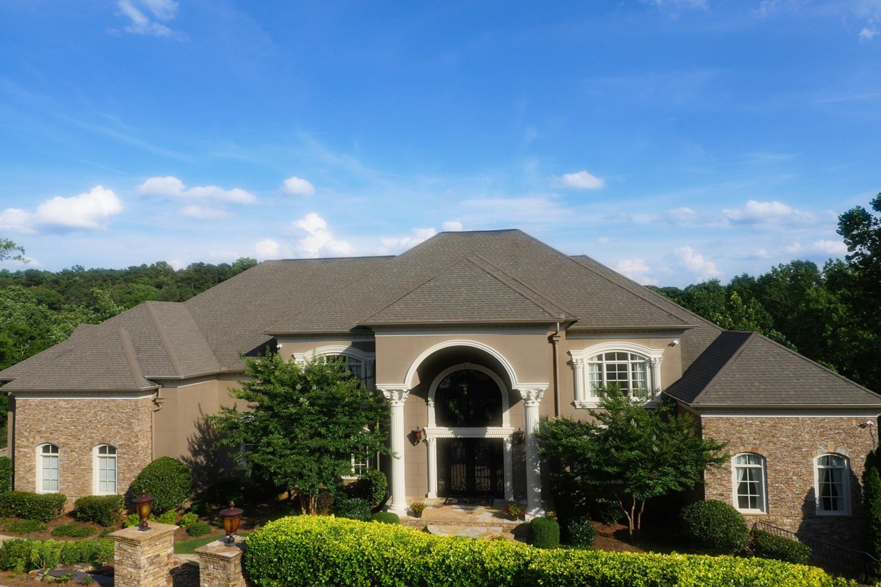 Casa para uma família para Venda às One Of Most Beautiful Homes In Atlanta 8395 Jett Ferry Road Atlanta, Geórgia 30350 Estados Unidos