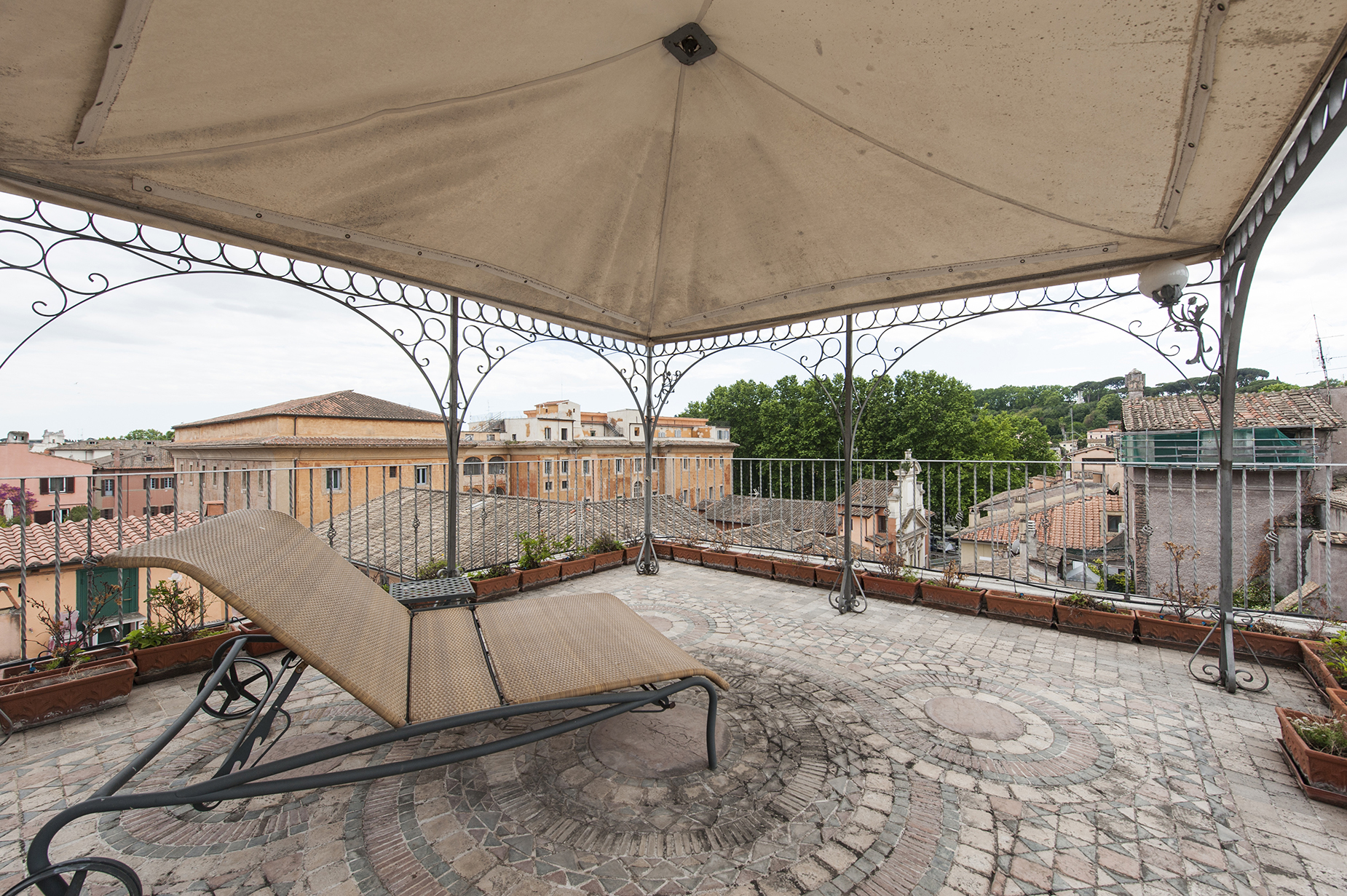 Property Of Charming penthouse in Via Giulia