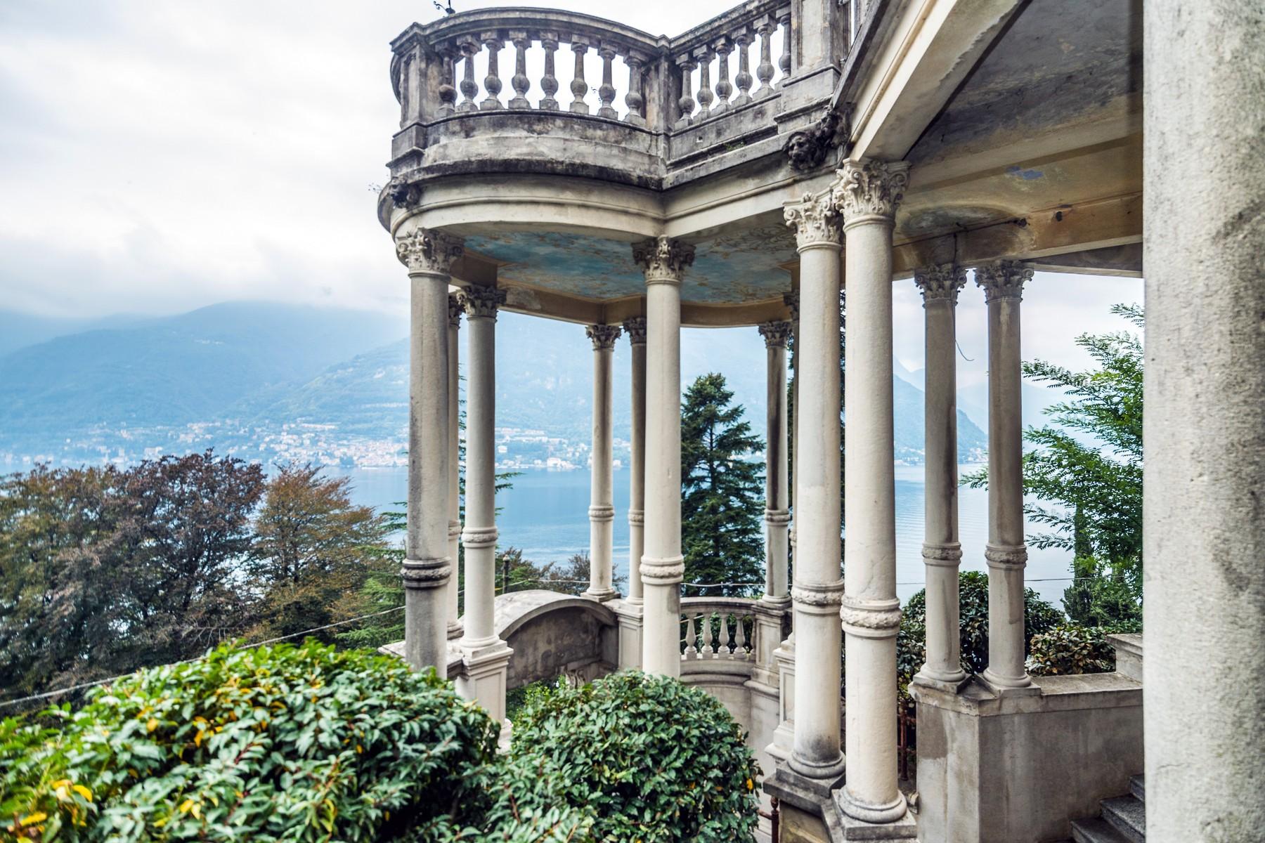 Additional photo for property listing at Distinguished panoramic XIXth century villa Via alle Rive Faggeto Lario, Como 22020 Italie