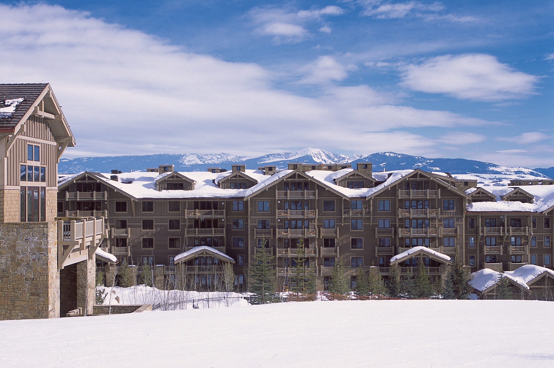 Single Family Home for Sale at Four Seasons Residence Club 7680 Granite Loop Road #550 Teton Village, Wyoming, 83025 Jackson Hole, United States