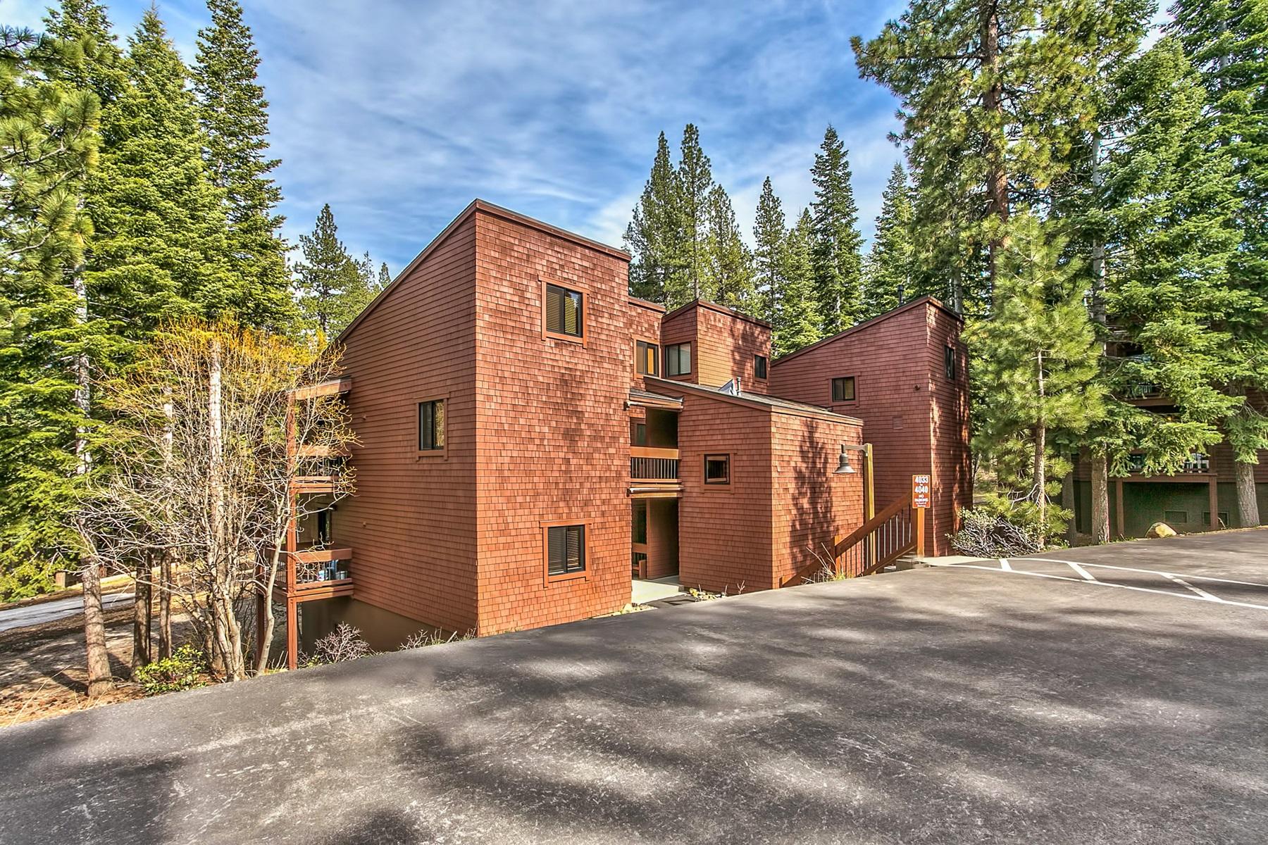 Condominium for Active at 4037 Ski View Truckee, California 96161 United States