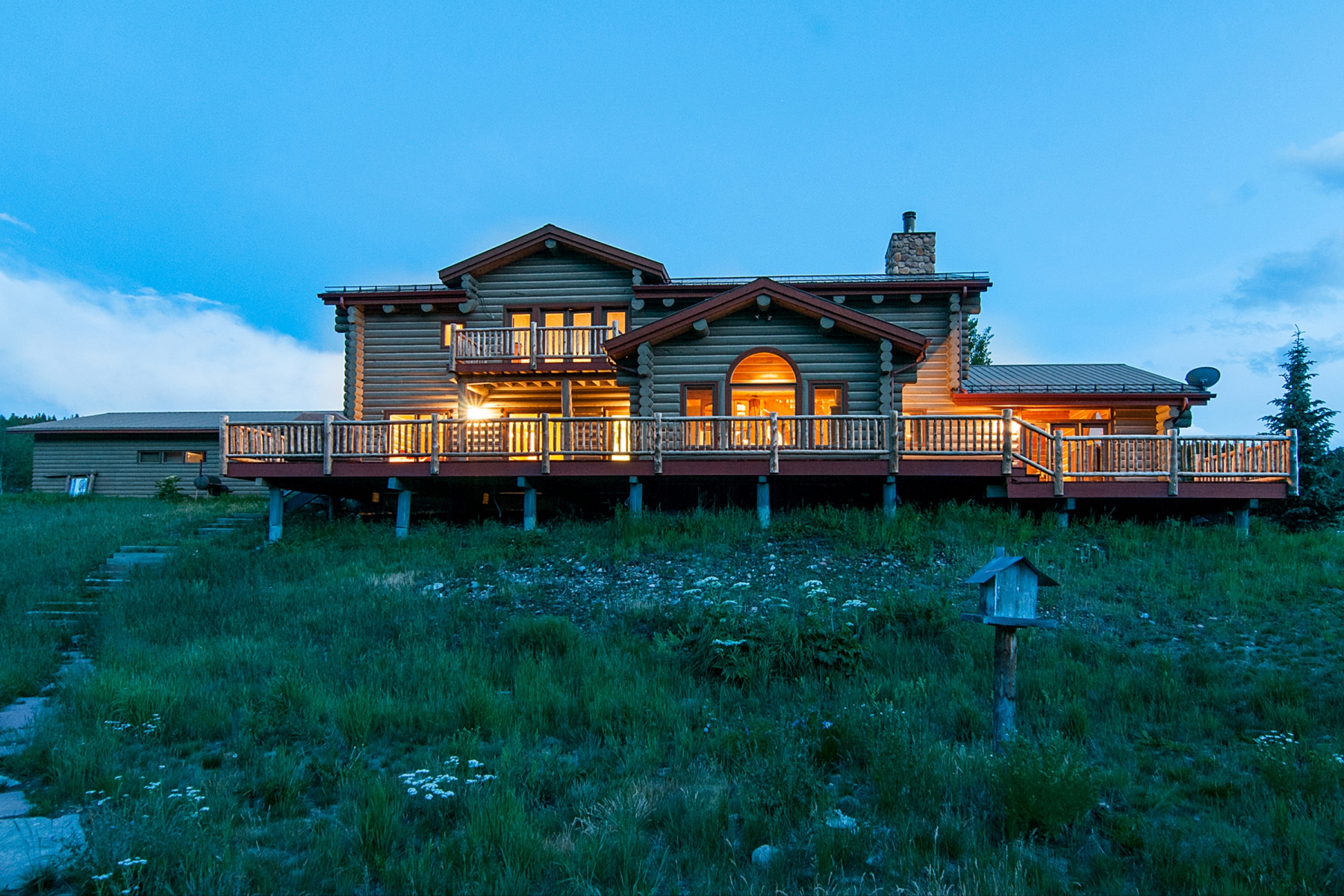 Single Family Home for Sale at Private Home with Acreage and Views of Golf and Skiing 1959 Tiger Road Breckenridge, Colorado 80424 United States