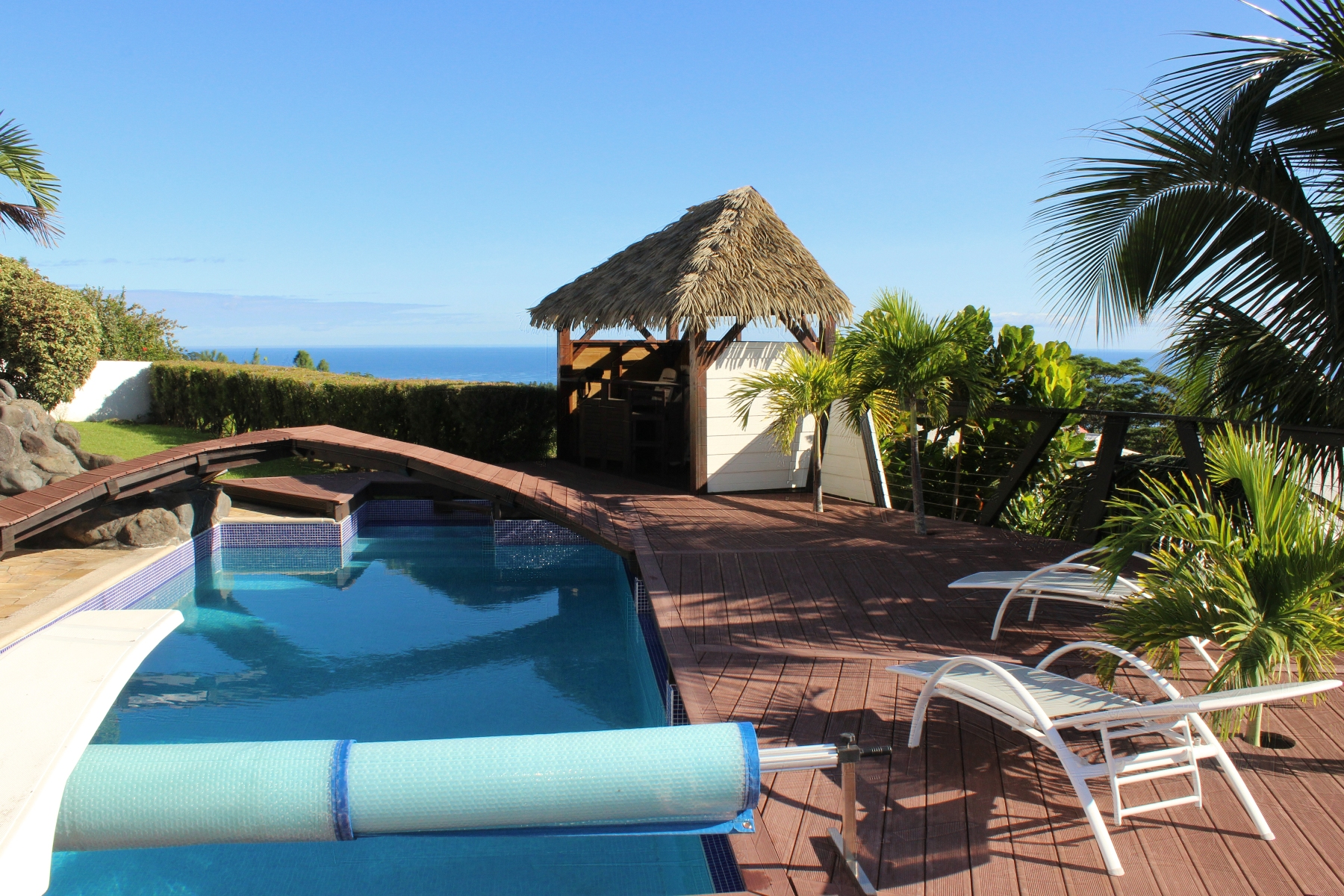 Multi-Family Home for Sale at Ocean view property Mahina, Tahiti French Polynesia