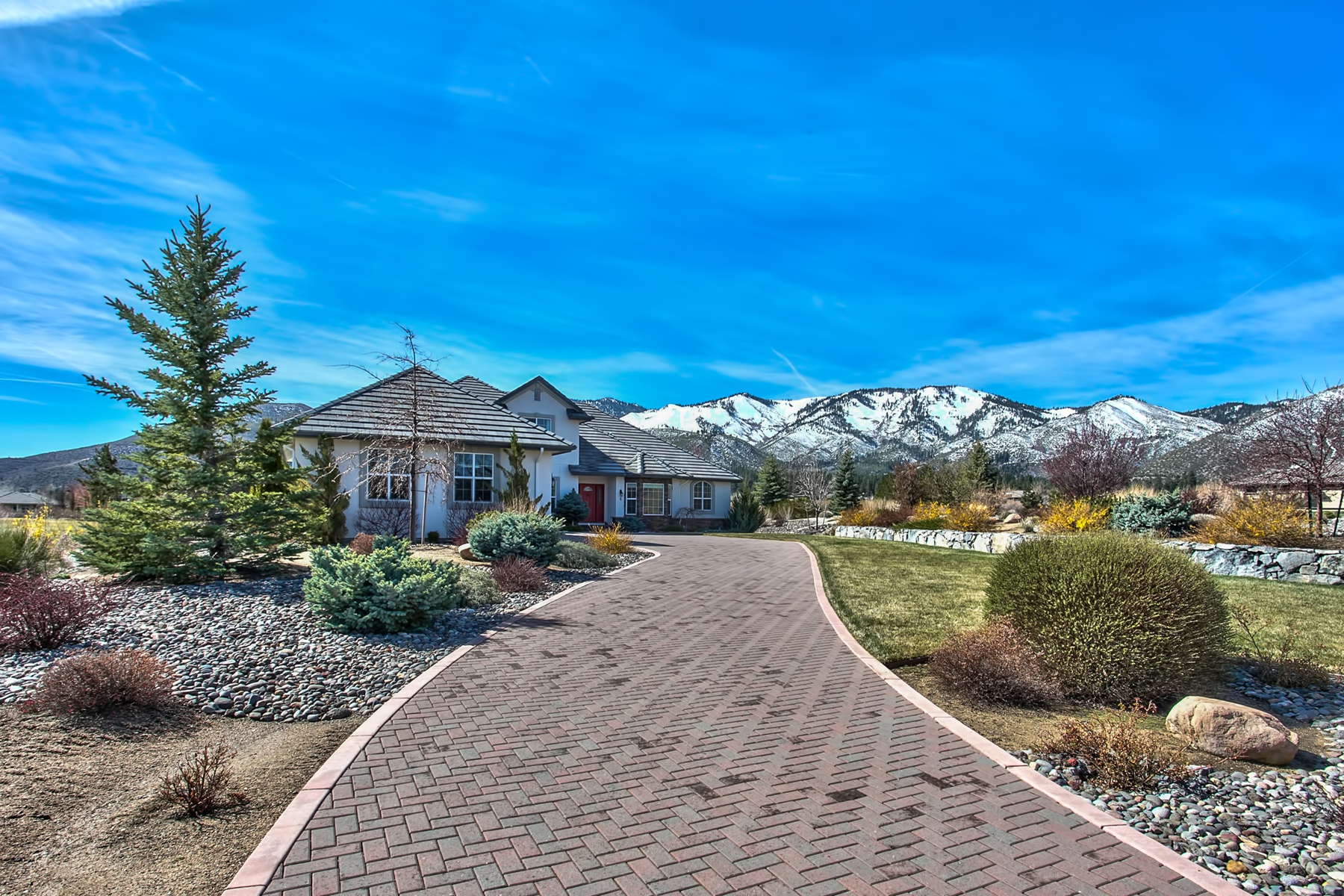Single Family Home for Sale at 6 Willow Bend Lane 6 Willow Bend Lane Washoe Valley, Nevada, 89704 United States