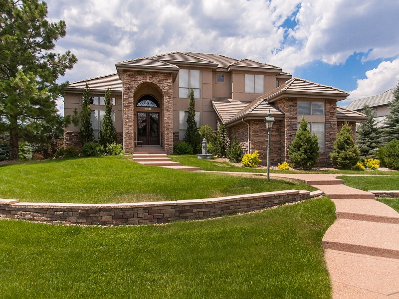 Single Family Home for Active at Gorgeous Home in the Prestigious Heritage Estates Community 8301 Harbortown Place Lone Tree, Colorado 80124 United States