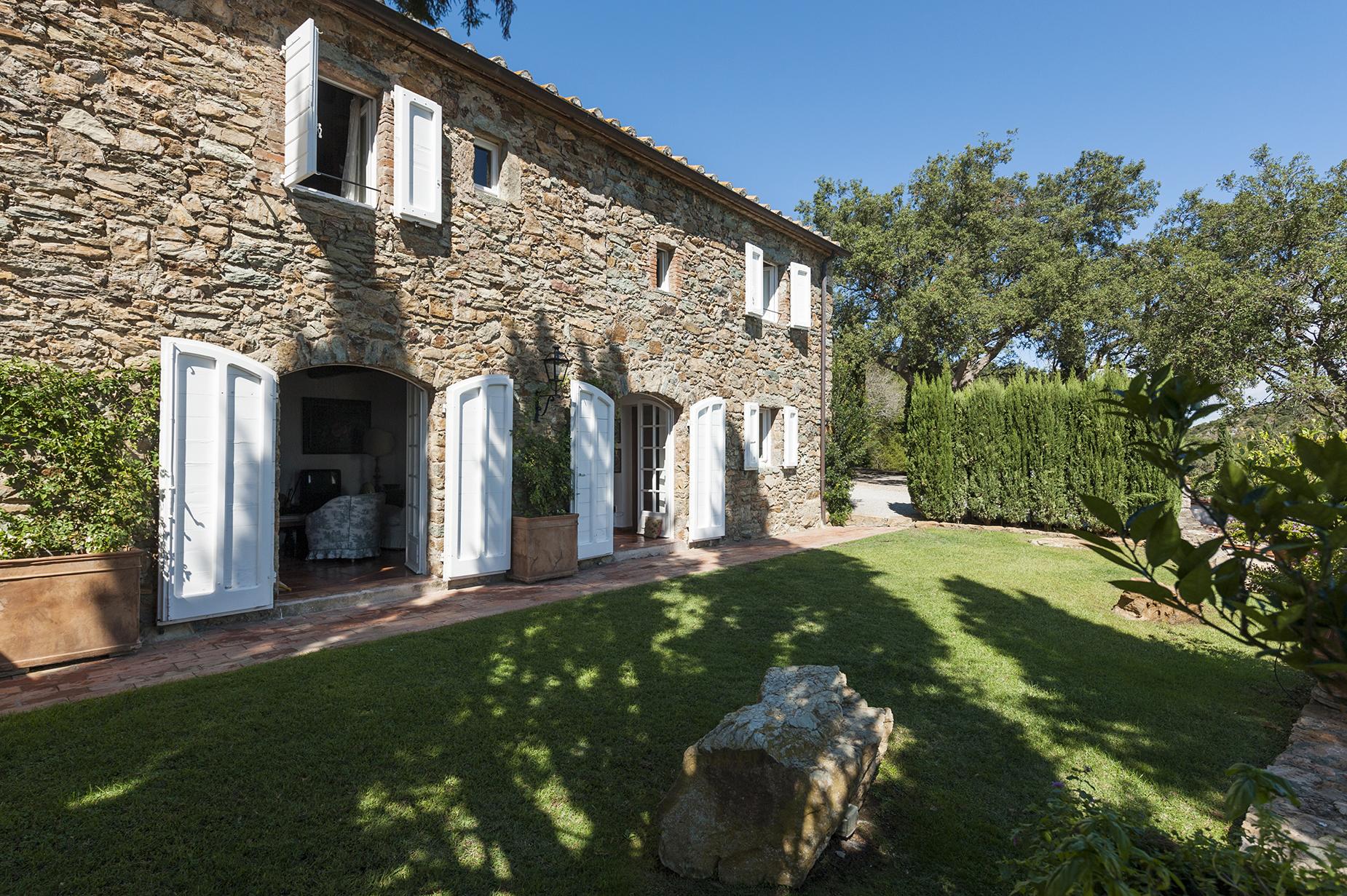 Single Family Home for Sale at Wonderful stone villa in Monte Argentario Porto Ercole, Grosseto Italy