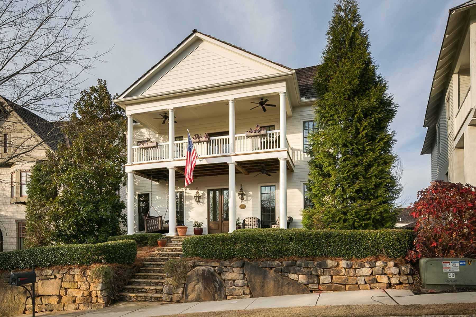 Tek Ailelik Ev için Satış at Charming Traditional 6725 Cross Gate Street Cumming, Georgia, 30040 Amerika Birleşik Devletleri