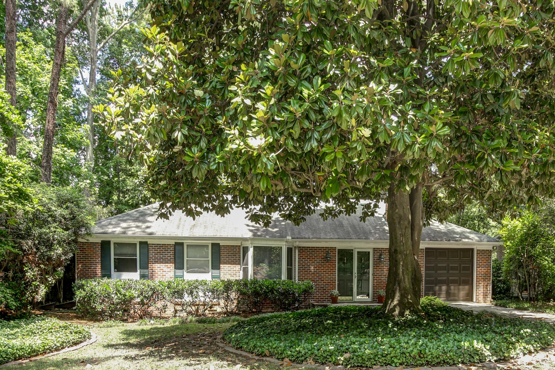 단독 가정 주택 용 매매 에 Brick Ranch Home In Hot Brookhaven 3619 Woodstream Circle Atlanta, 조지아 30319 미국