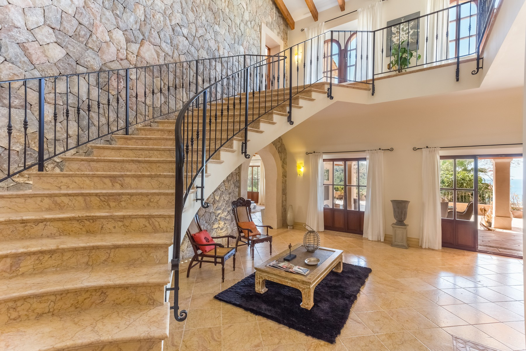 Property Of Spacious Mallorquin Style Villa in Port Andratx