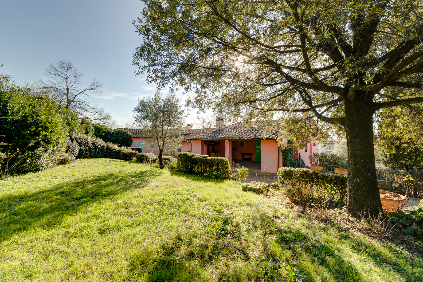 Single Family Home for Sale at Renovated farmhouse in Florence Viale Righi Firenze, 50100 Italy