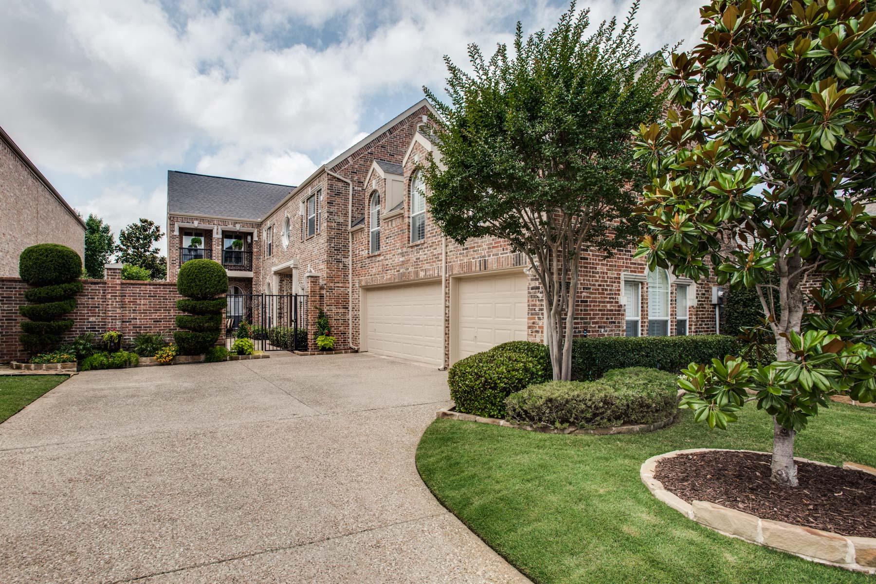 Villa per Vendita alle ore Courtyard Living 3761 Milano Lane Frisco, Texas, 75034 Stati Uniti