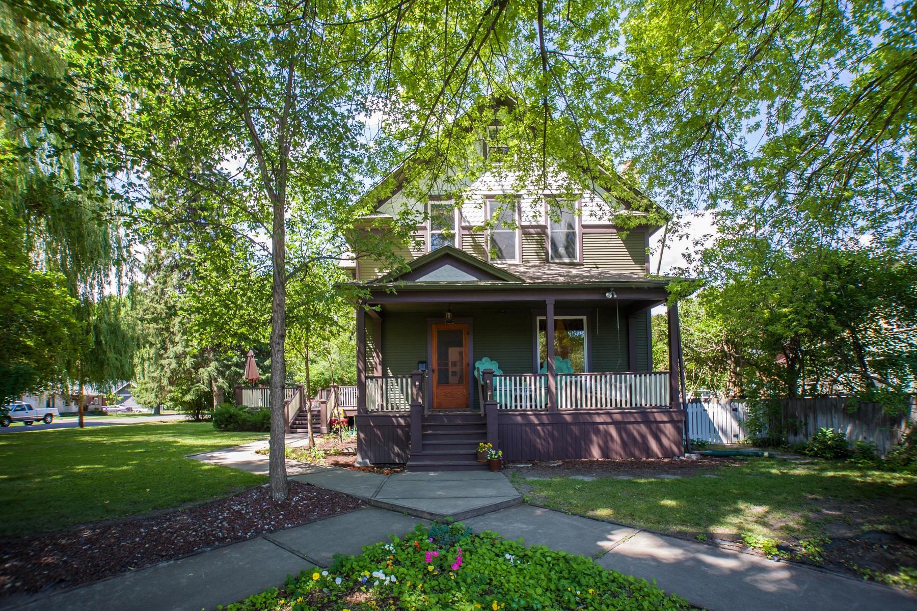 Einfamilienhaus für Verkauf beim Historical Victorian 738 2nd Avenue E Kalispell, Montana 59901 Vereinigte Staaten