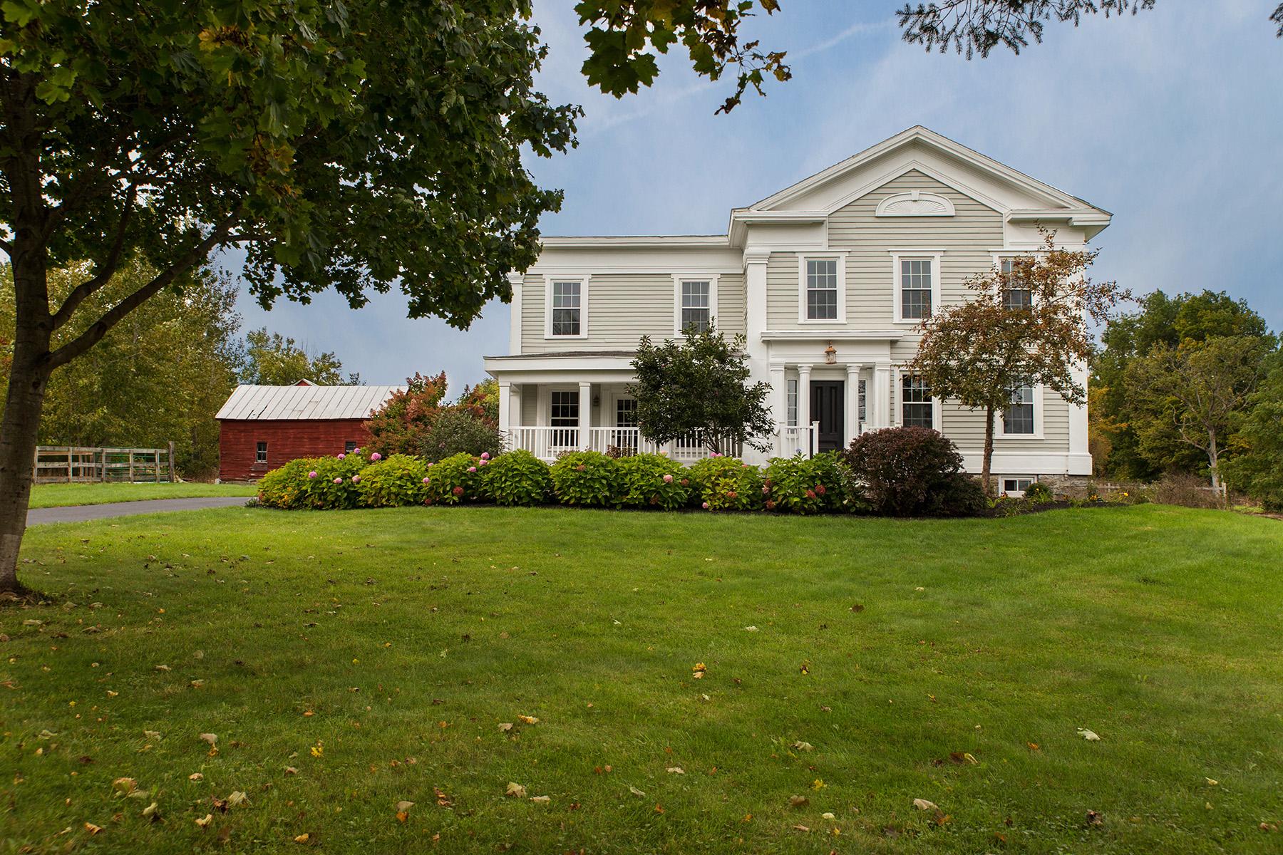 Nhà ở một gia đình vì Bán tại Greek Revival Farm House 5333 Jockey Street Galway, New York 12074 Hoa Kỳ