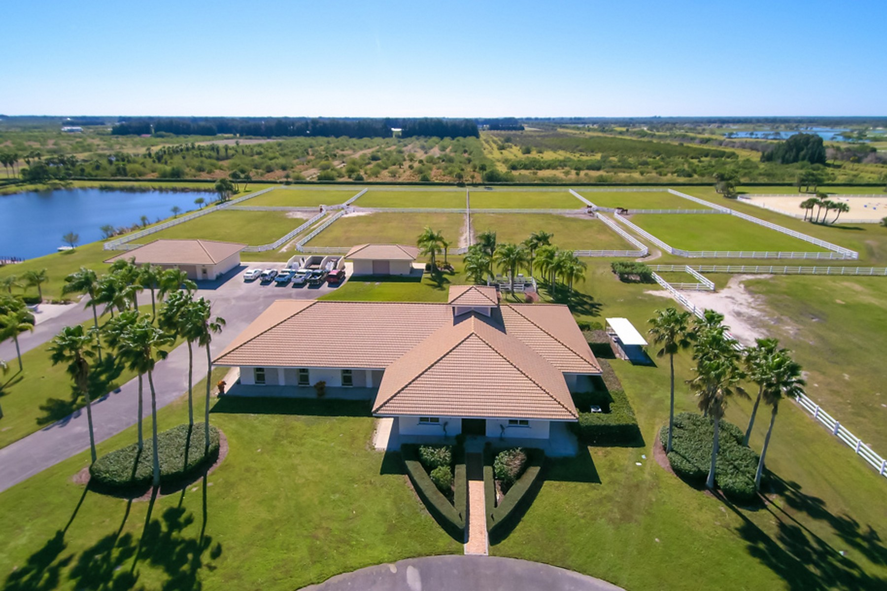 Fattoria / ranch / campagna per Vendita alle ore Incomparable 36+ acre Equestrian Compound 7355 69th St Vero Beach, Florida, 32967 Stati Uniti