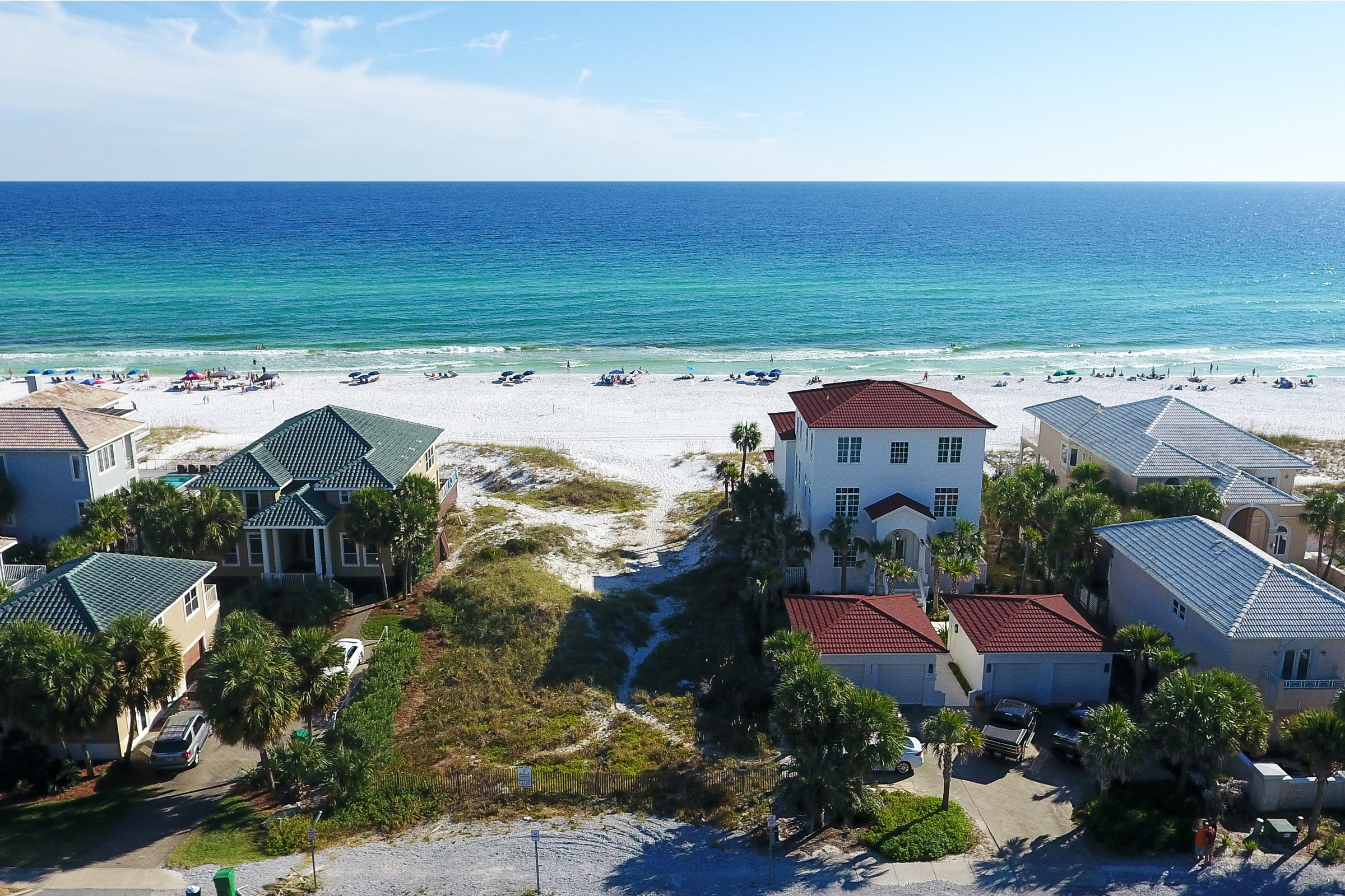Земля для того Продажа на PROMINENT GULF-FRONT DESTIN HOME SITE 2980 Scenic Highway 98 Destin, Флорида, 32541 Соединенные Штаты