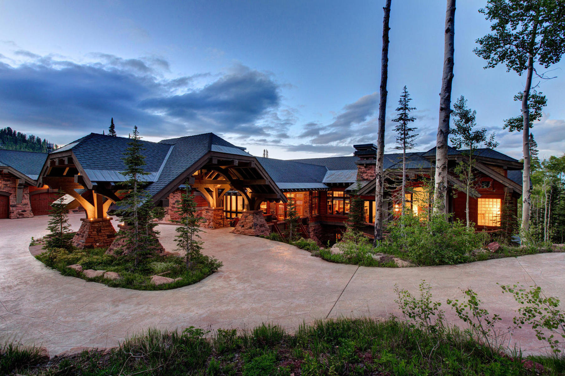Single Family Home for Sale at A View from the Top 141 White Pine Canyon Rd Park City, Utah 84098 United States